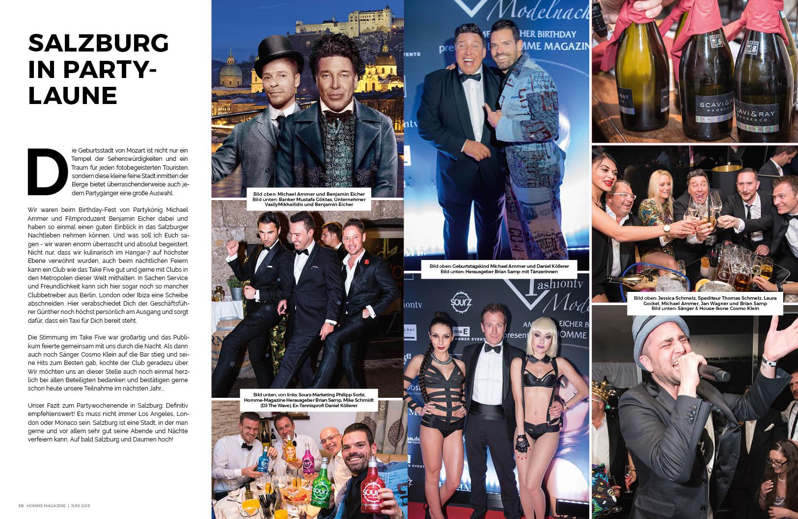 1 HOMME Magazine - JUNI 2016 - Nachbericht Modelnacht Salzburg - 2
