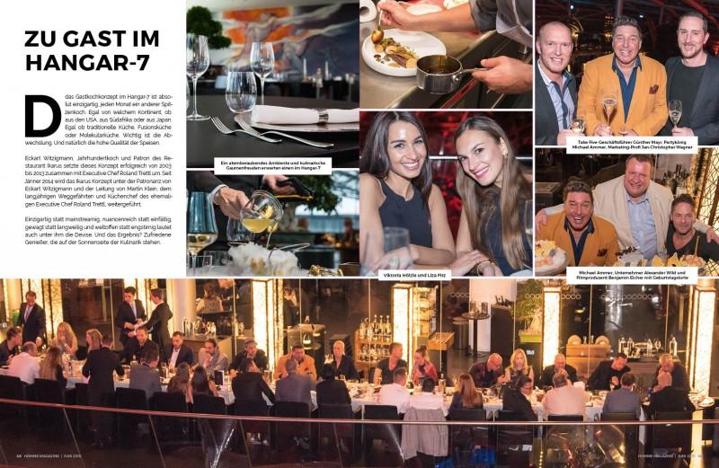 2 HOMME Magazine - JUNI 2016 - Nachbericht Modelnacht Salzburg - 1