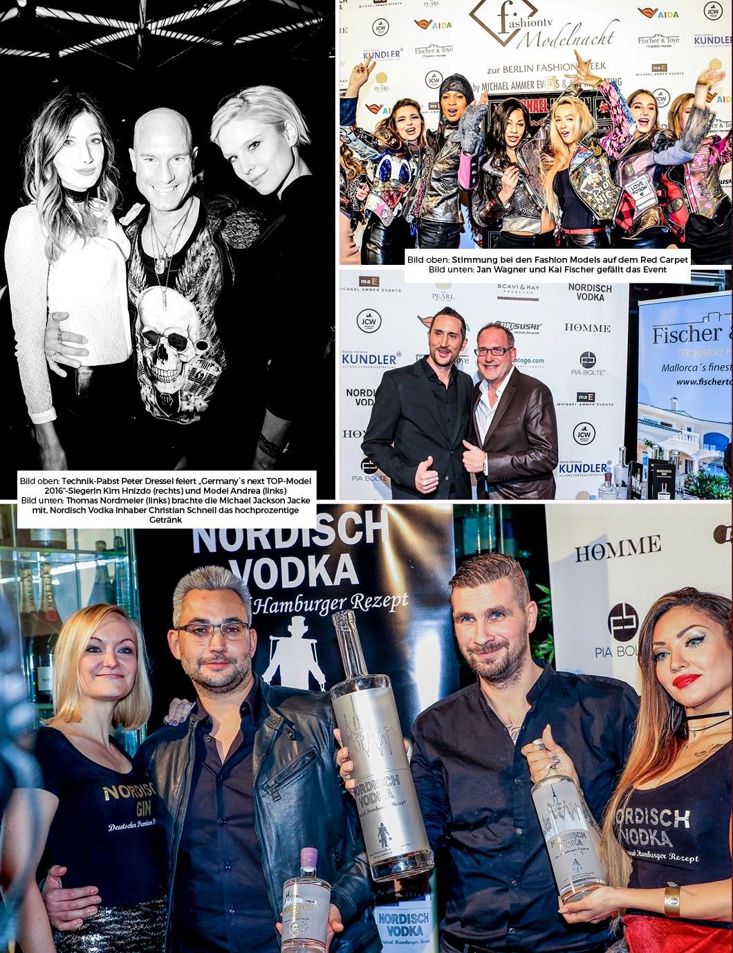 ARTIKEL - HOMME MAGAZINE (MÄRZ AUSGABE) - FashionTV MODELNACHT - BERLIN - PEARL - 2. Doppelseite 1
