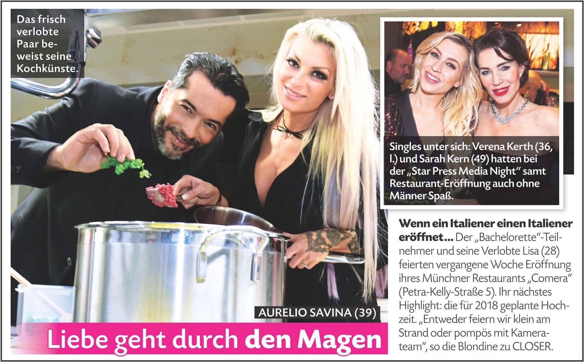 CLOSER Magazin - Nachbericht MÜNCHEN - Ausgabe 12.12.2017