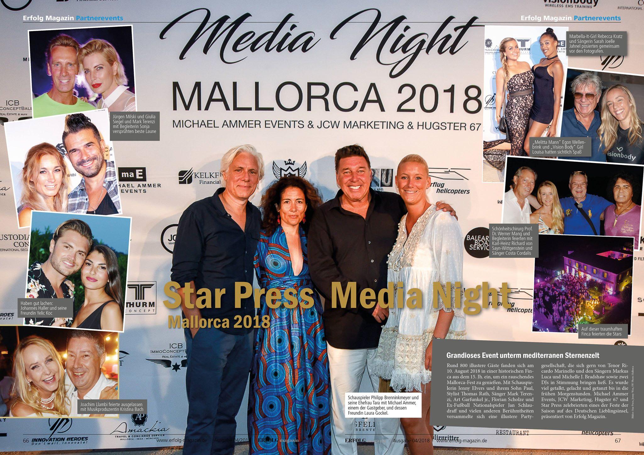 ERFOLG MAGAZIN - Nachbericht Mallorca - Ausgabe Okt 2018