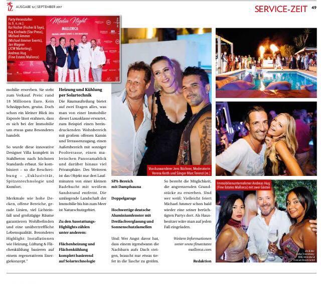 z24 - Nachbericht Mallorca - DIE INSELZEITUNG - 2 Seite