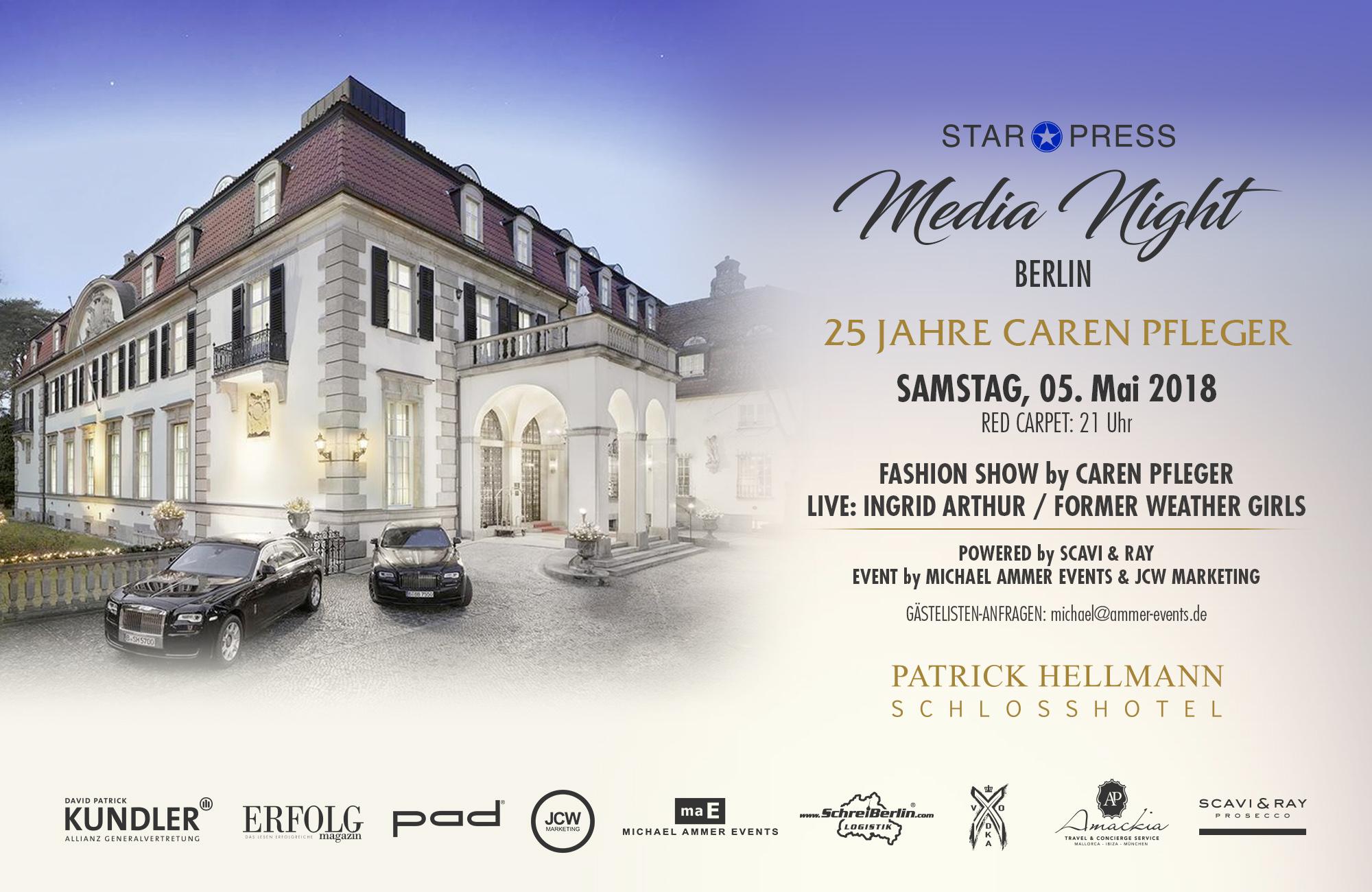 A A - Einladung - Schlosshotel Berlin - quer- mit Mail-Adresse